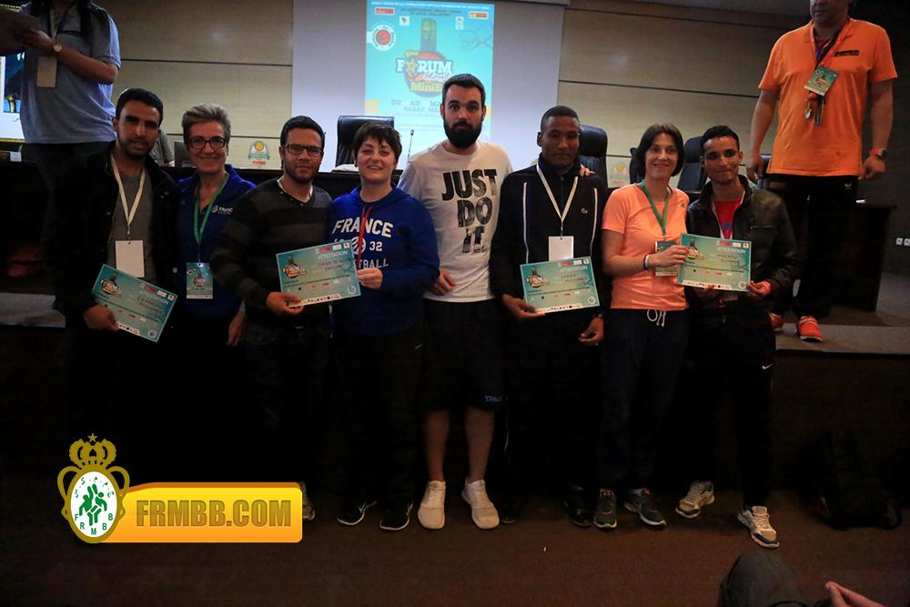 4ème édition du  Forum International du Minibasket45