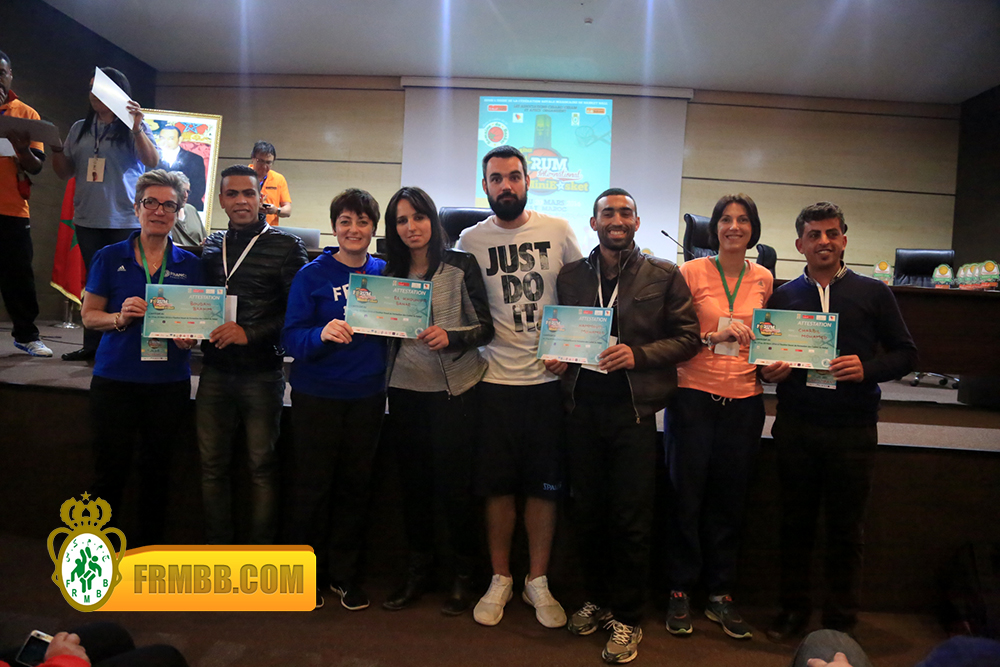 4ème édition du  Forum International du Minibasket48