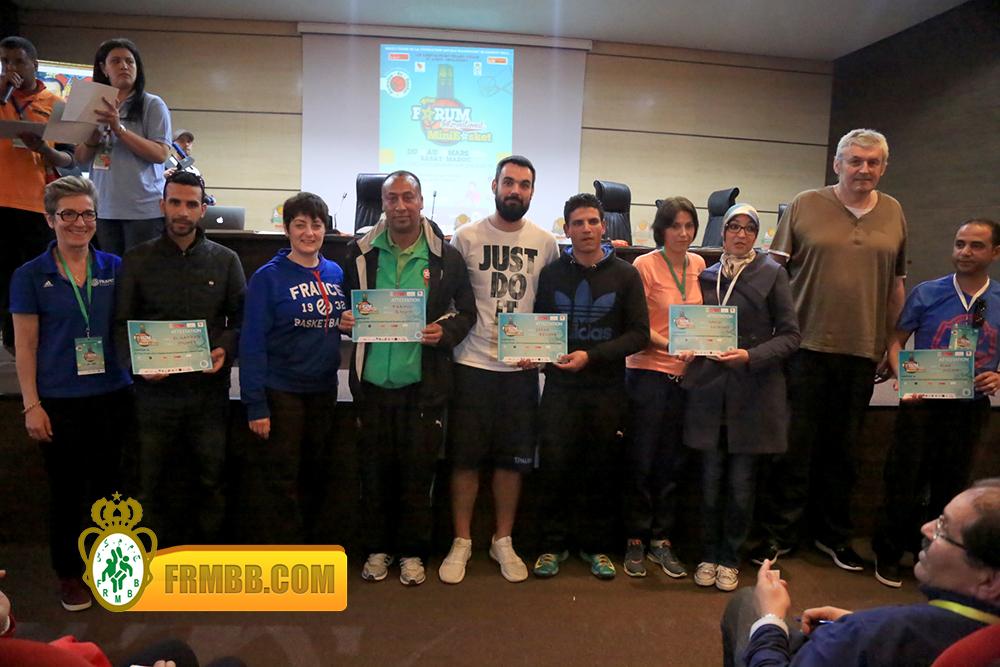 4ème édition du  Forum International du Minibasket51