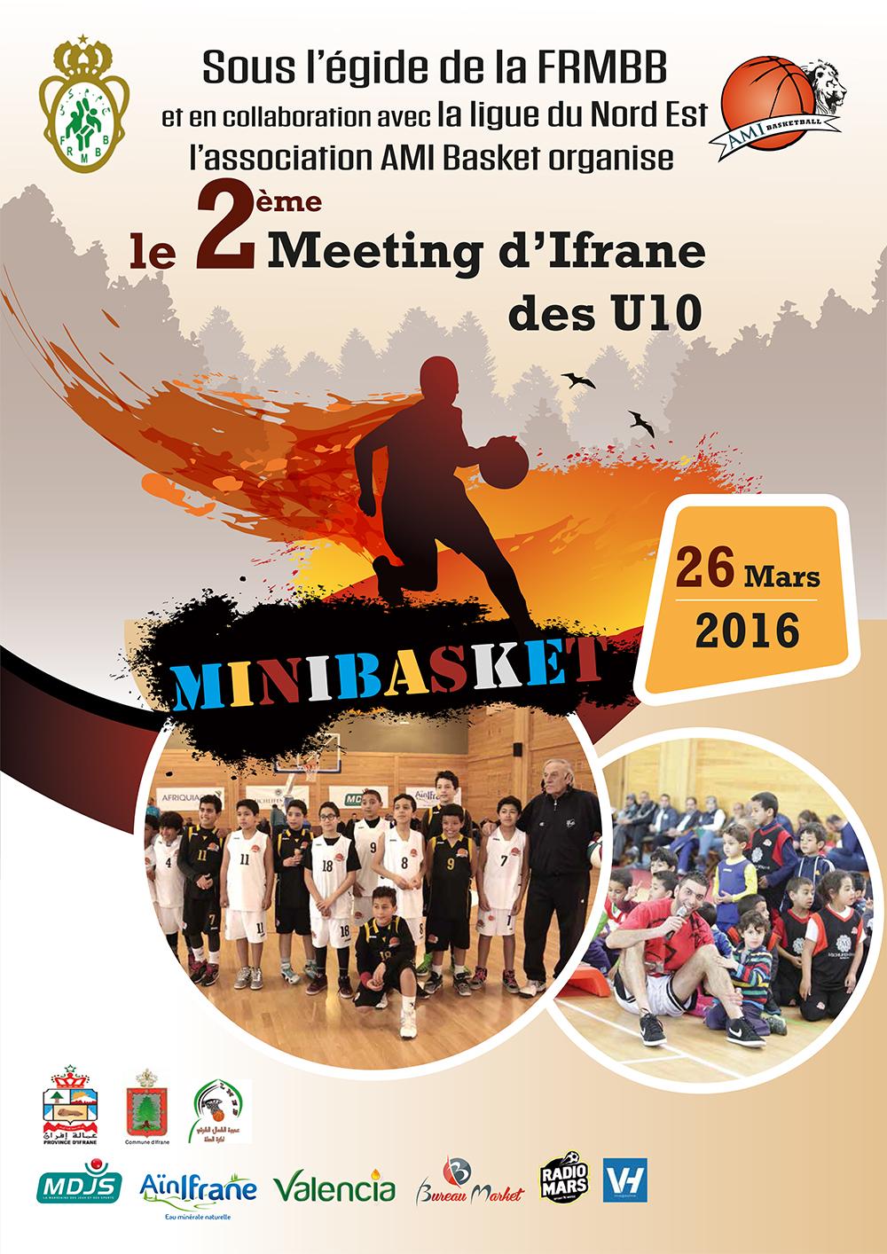 Affiche AMI 2ème meeting U10