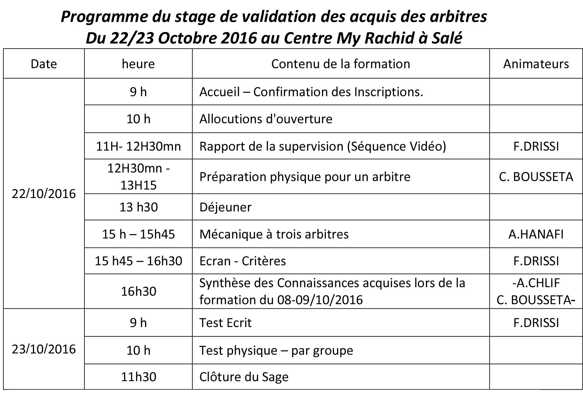 programme-du-stage-de-validation-des-acquis-des-arbitres-du-22-23-octobre-2016-copy