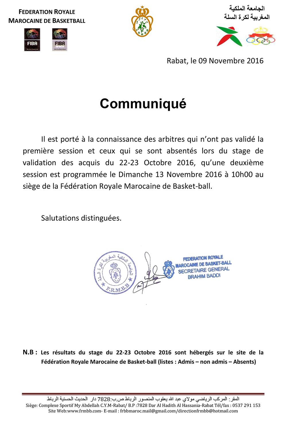 communique-des-resultats-du-stage-de-validation-des-acquis-des-arbitres-du-22-23-octobre-2016-copy