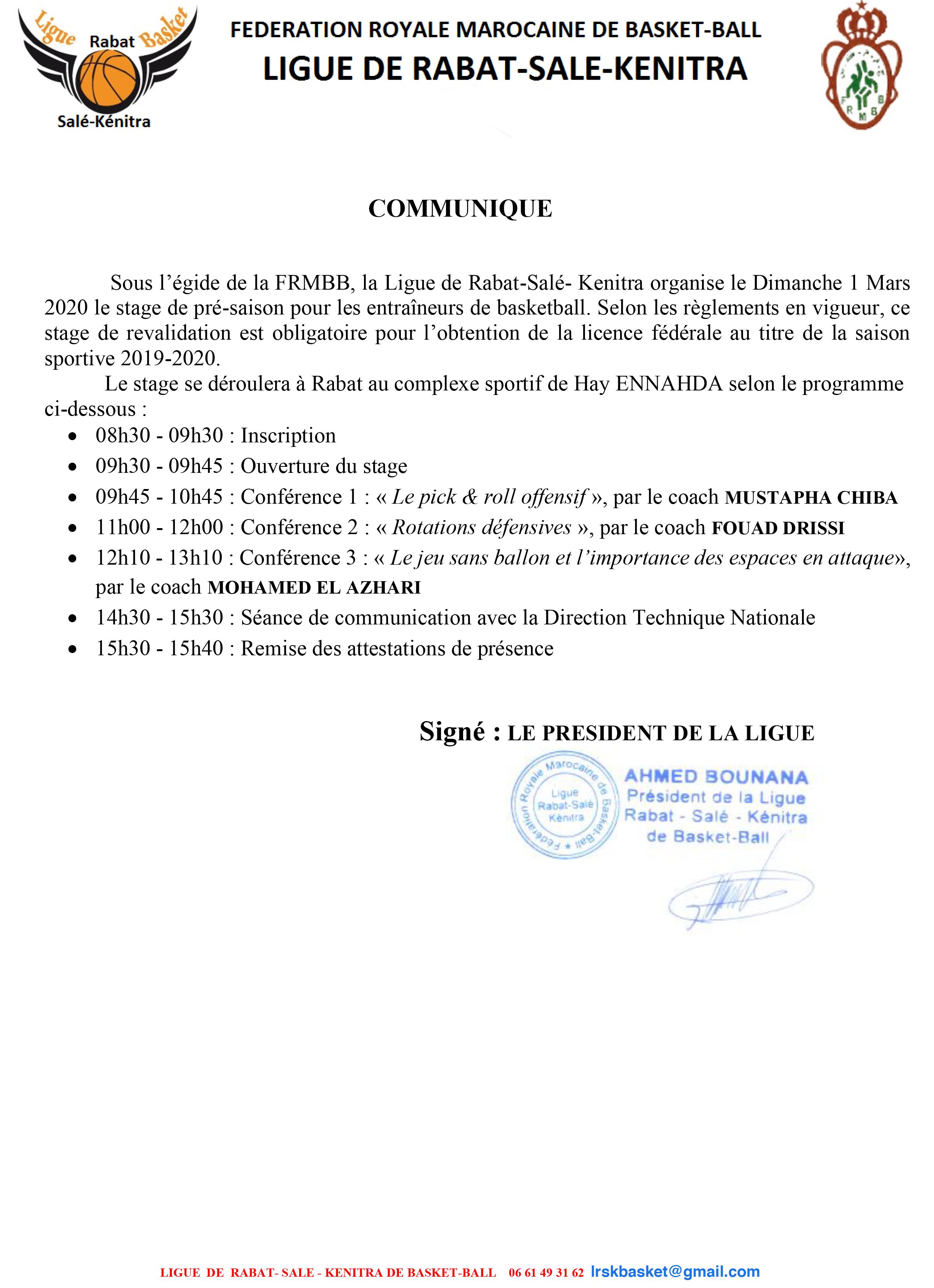 STAGE DE PRE-SAISON DES ENTRAINEURS.pdf